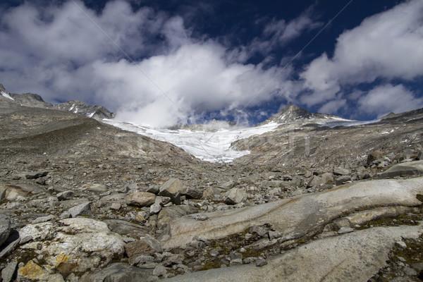 ледник север итальянский гор лет горные Сток-фото © haraldmuc