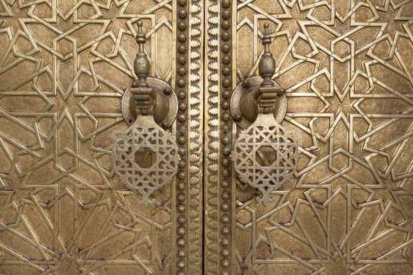 двери подробность Марокко север Африка Сток-фото © haraldmuc