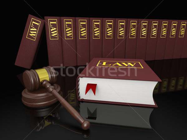 Legal library Stock photo © Harlekino