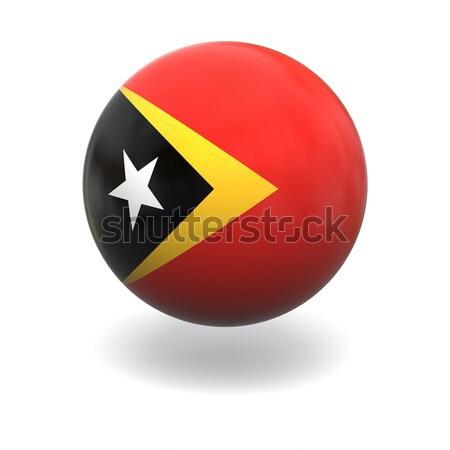 East Timor flag Stock photo © Harlekino