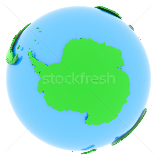 Antarctic on Earth Stock photo © Harlekino