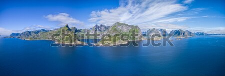 Panorama mozzafiato Norvegia panorama Foto d'archivio © Harlekino