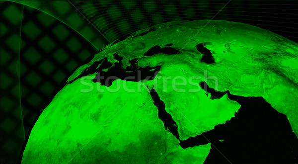 Middle East technology concept Stock photo © Harlekino