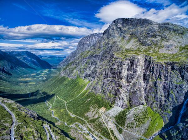 Trollstigen Stock photo © Harlekino