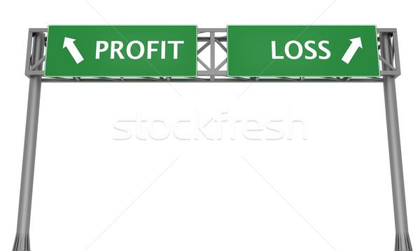Profit or Loss Stock photo © Harlekino