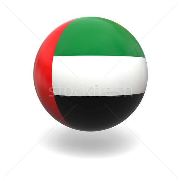 UAE flag Stock photo © Harlekino