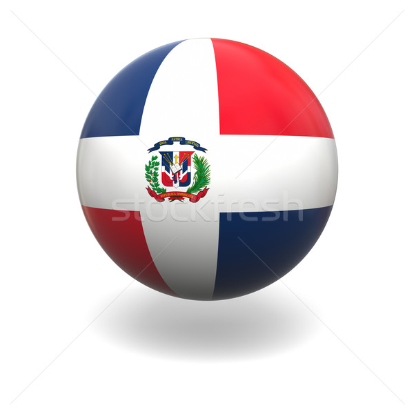Dominican Republic flag Stock photo © Harlekino