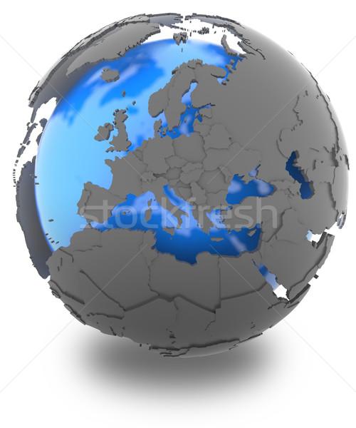 Europe on Earth Stock photo © Harlekino