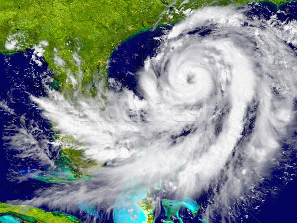 Hurrikán Florida hatalmas Amerika elemek kép Stock fotó © Harlekino