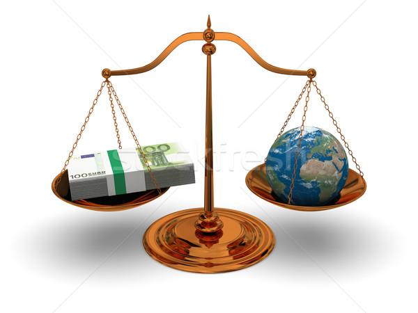 Justice and money Stock photo © Harlekino
