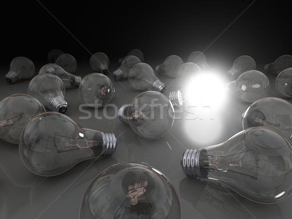 Bright idea Stock photo © Harlekino