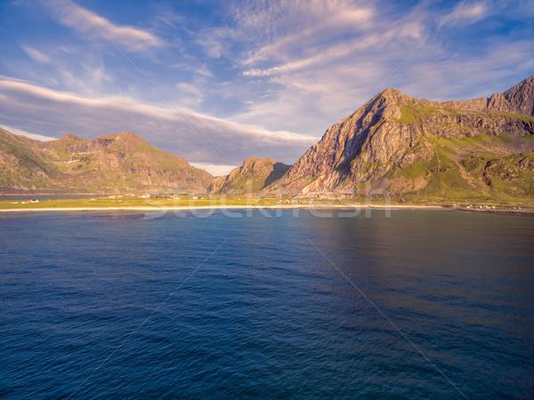 Noruega popular turista destino Foto stock © Harlekino