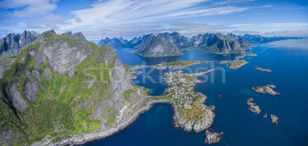 Reine panorama Stock photo © Harlekino