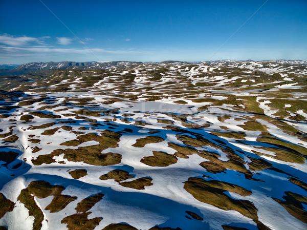 Norwegian landscape Stock photo © Harlekino