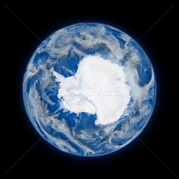 Antarctica on planet Earth Stock photo © Harlekino