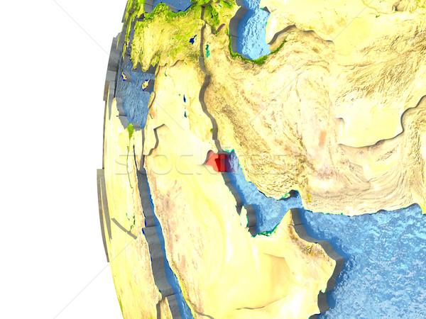красный мира океана 3d иллюстрации Сток-фото © Harlekino