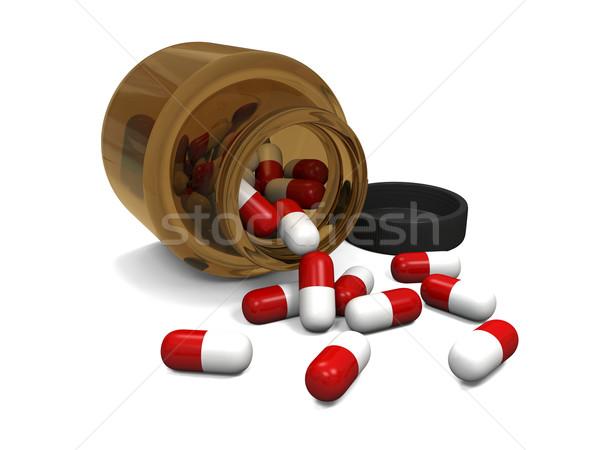 Pills Stock photo © Harlekino