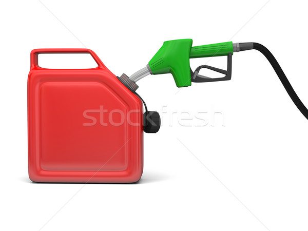 Petrol pump and jerry can Stock photo © Harlekino