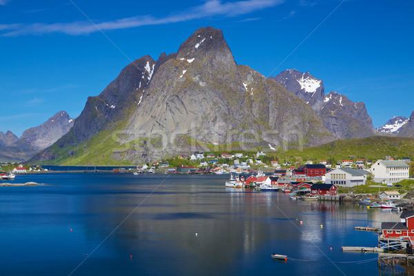 Scenic Norway Stock photo © Harlekino