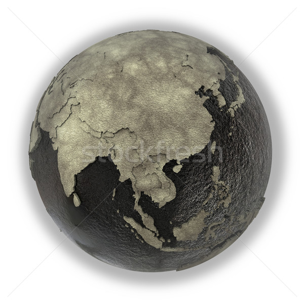 Southeast Asia on Earth of oil Stock photo © Harlekino