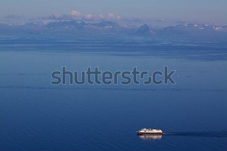 Noors zee groot eilanden Stockfoto © Harlekino
