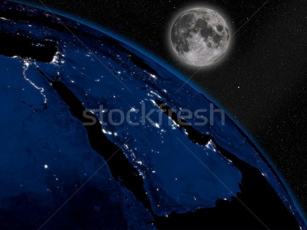 半島 1泊 スペース 地球 ストックフォト © Harlekino