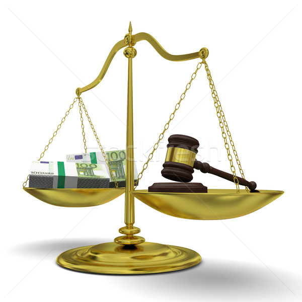 Profit versus justice Stock photo © Harlekino