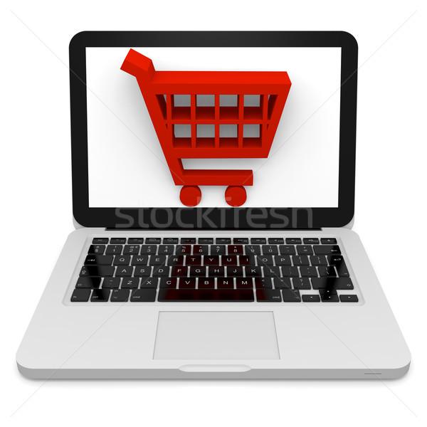 Online shopping Stock photo © Harlekino