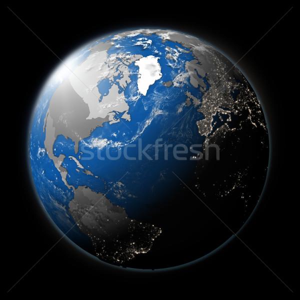 Planet Earth Stock photo © Harlekino