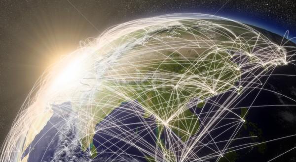 Stock fotó: Hálózat · Ázsia · régió · levegő · forgalom · elemek