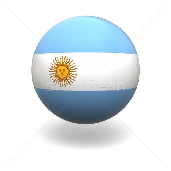 Argentinian flag Stock photo © Harlekino