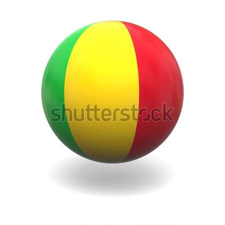 Malian flag Stock photo © Harlekino