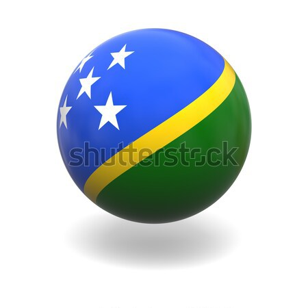 Solomon islands flag Stock photo © Harlekino