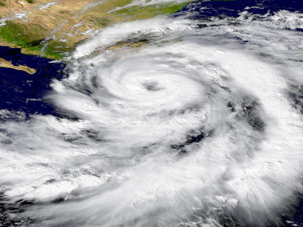 ураган иллюстрация Элементы изображение небе карта Сток-фото © Harlekino