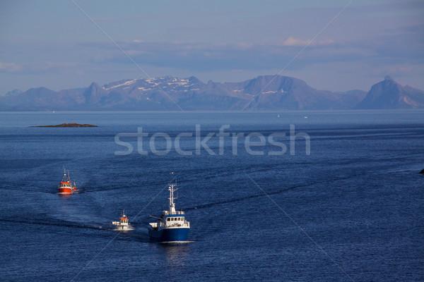 Fishing boats Stock photo © Harlekino