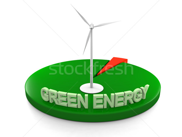 Green energy Stock photo © Harlekino