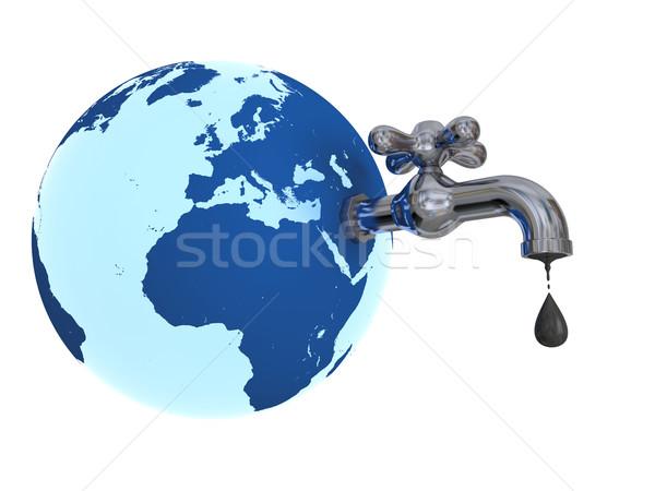 Oil depleting Stock photo © Harlekino