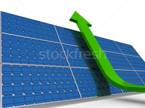 Solar panel Stock photo © Harlekino
