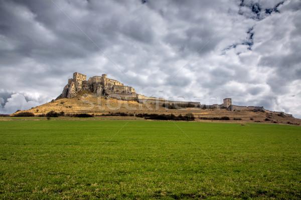 Spis castle in Slovakia Stock photo © Harlekino