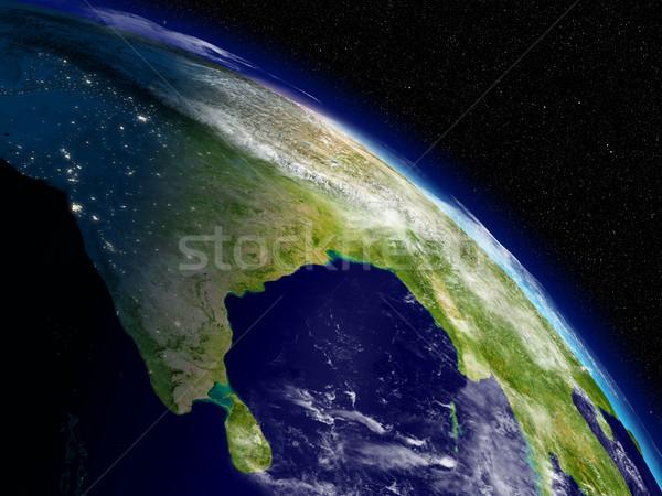 Morning over India Stock photo © Harlekino