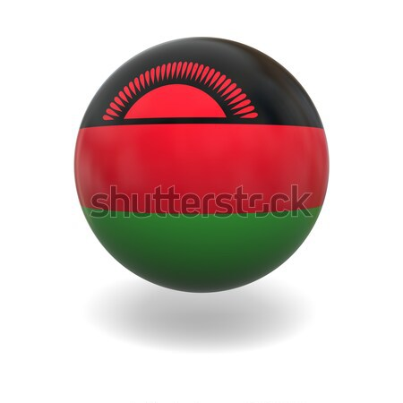 Malawi flag Stock photo © Harlekino