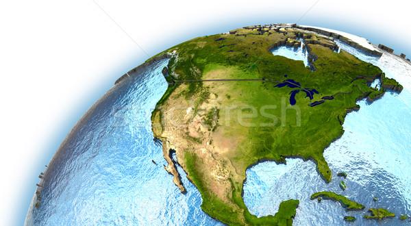 North America Stock photo © Harlekino