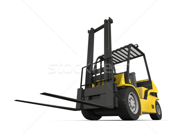 Forklift Stock photo © Harlekino
