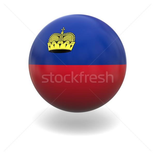 Liechtenstein flag Stock photo © Harlekino