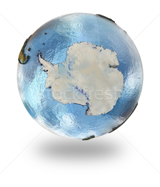 Antarctica on Earth Stock photo © Harlekino