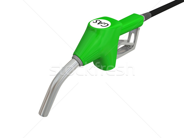Petrol pump nozzle Stock photo © Harlekino