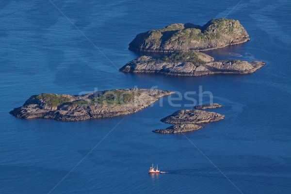 Mer oiseau oeil vue Photo stock © Harlekino
