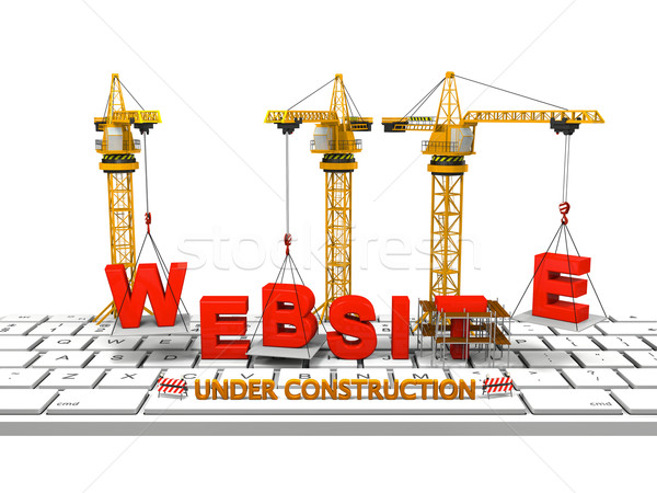 Building Website Stock photo © Harlekino