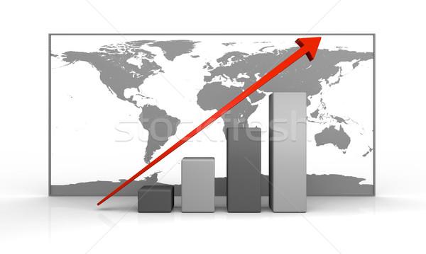 Global growth Stock photo © Harlekino