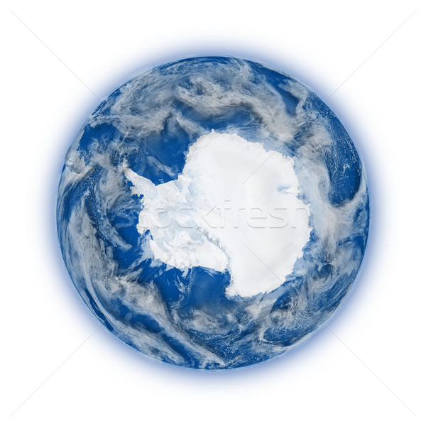 Antarctica on planet Earth Stock photo © Harlekino
